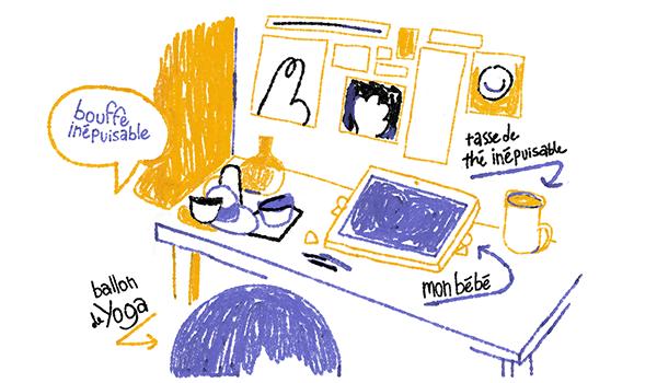 Avant de rejoindre Kathrine Avraam dans son atelier idéal, rendez-vous sur blog !