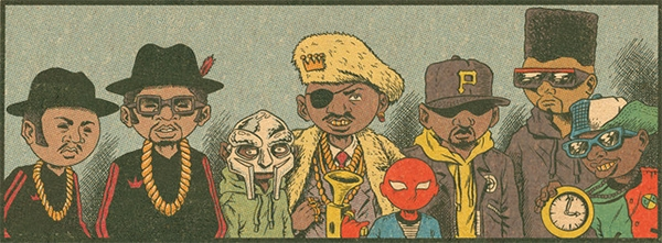 Hip-Hop Family Tree T.1