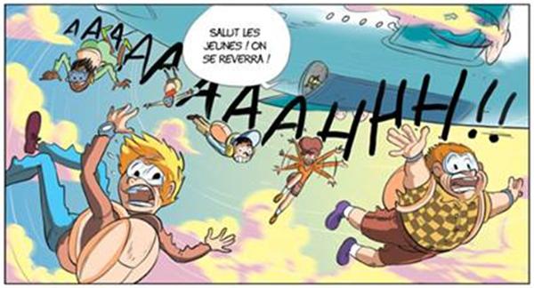 Premier saut en parachute pour les héros de Géo Ado !