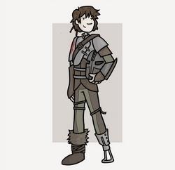 Pour cette Toile montante, Aby Cyclette a dessiné son personnage préféré : Harold du film d'animation Dragons.