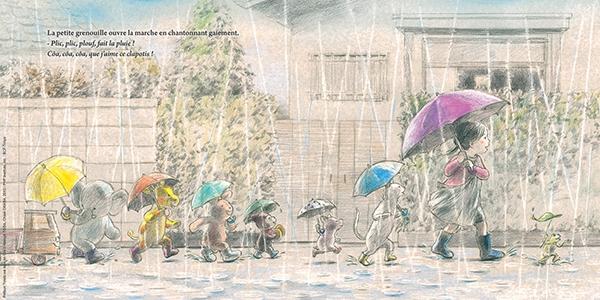 Extrait de Jour de pluie, Chioki Okada