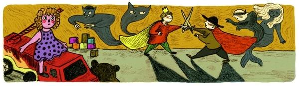 Dans les planches de Margaux Chetteau, des jeux d'enfants deviennent de véritables scènes de cape et d'épée !