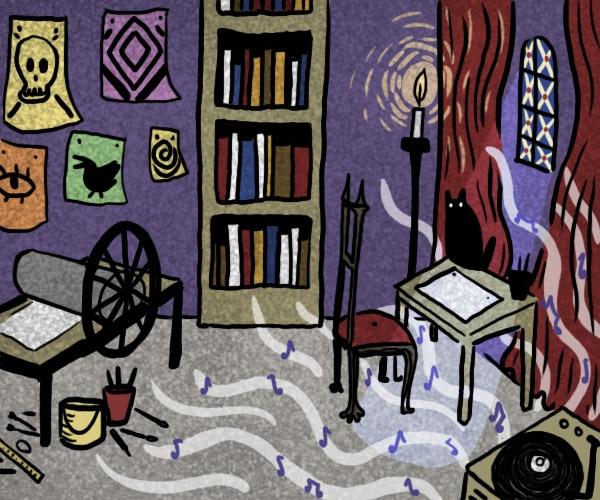 Avant de visiter l'atelier magique de Margaux Chetteau, rendez-vous sur son Tumblr !