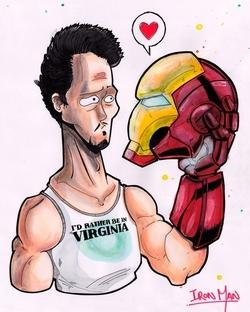Fan de l'univers d'Iron Man, Jean-Baptiste Mus nous en proposé un pastiche !