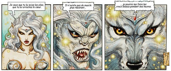Titania, avide de vengeance...