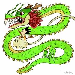 Pour cette Toile montante, Elosterv a dédié un dessin à un manga qui bercé son enfance : Dragon Ball !