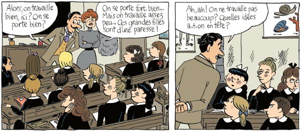 Claudine à l'école de Colette adaptée par Lucie Durbiano (BD) Ent_313_1522151620-939965