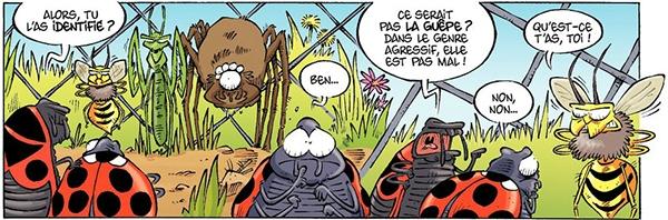 Avec Les Insectes en BD on apprend en s'amusant !