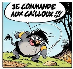 Totor le Minotaure rêve d'avoir de supers pouvoirs !