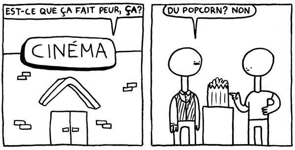 Alex Lévesque puise dans n'importe quelle situation du quotidien pour injecter à ses BD une bonne dose d'absurdité !