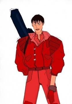Influencé par les mangas, Ibticem a dessiné le héros de son enfance : Kaneda Shotaro de la série Akira !