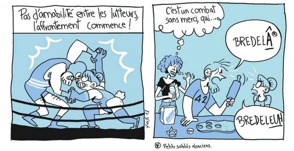 A travers Le Bordel d'Awa, YouSh dévoile avec humour le quotidien des Alsaciens, dont la lutte des accents !