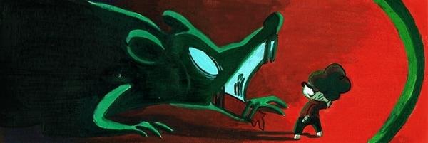 Dans ses dessins, Kamyeuuh aime aborder des situations difficiles auprès de la jeunesse.