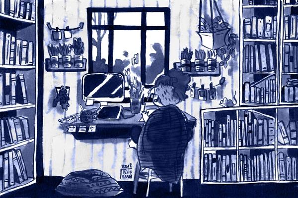 Avant de visiter l'atelier de Kamyeuuh, rendez-vous sur son blog !