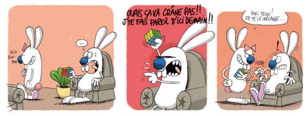 Chez les Rabbit, la vie de famille est plutôt agitée !