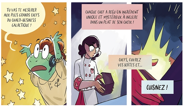 Extrait de Space Battle Lunchtime T.1