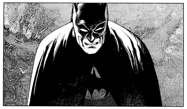Extrait de Batman : the Third Mask, Katsuhiro Otomo