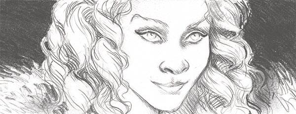 Crayonné de Milady