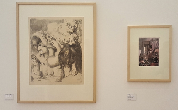 Lithographie de Renoir