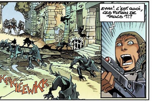 Dans le tome 8, les héros font face aux Murlocks, comme ceux de l'œuvre de H.G Wells