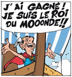 Avec Lupano Sarkozy devient gaulois !