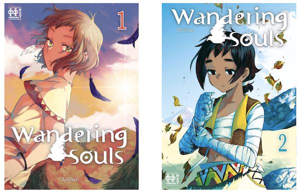 Les 2 tomes de Wandering Souls