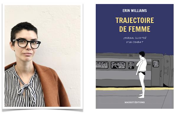 Erin Williams livre sa vie en dessin dans Trajectoire de femme