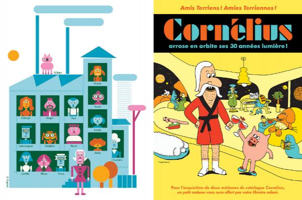 Trois décennies de péripéties éditoriales et d'explorations graphiques pour Cornélius
