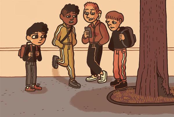 Elliot au collège rentre dans la Spirou family!