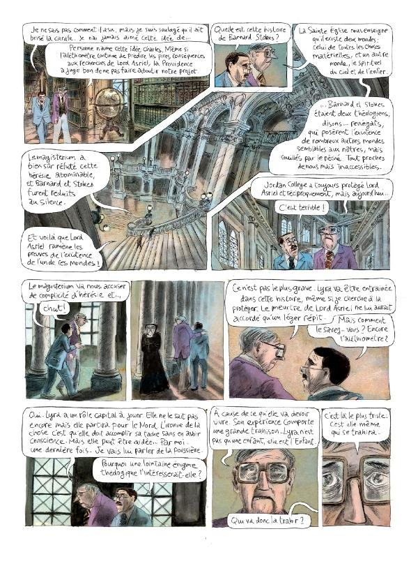 La page 17, au dialogue conséquent...