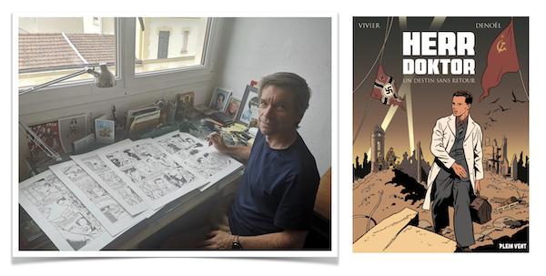 Denoël est le dessinateur de Herr Doktor - Un destin sans retour