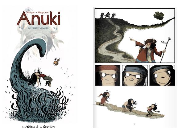 La série Anuki compte 10 tomes à son actif