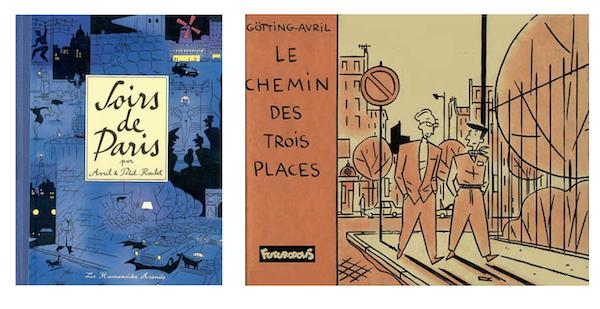 2 BD phares de François Avril