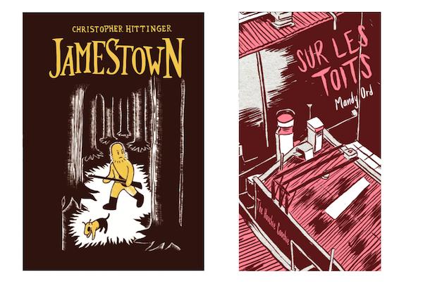 2 ouvrages de la rentrée: Jamestown (10/09/2021) et Sur les toits (08/10/2021)