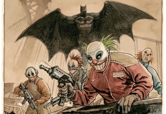 Batman vu par Enrico Marini
