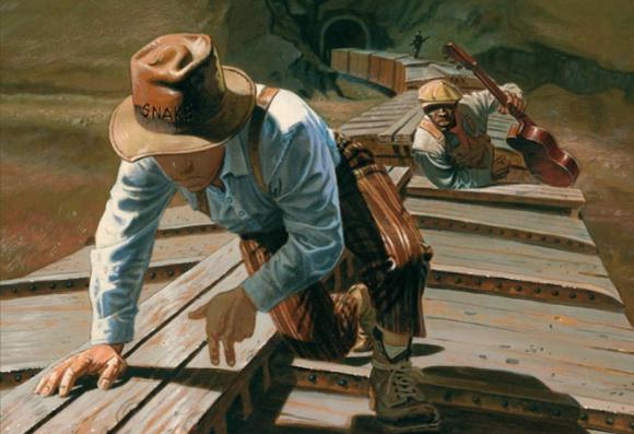 On retrouve des codes du western dans la série O'boys de Steve Cuzor