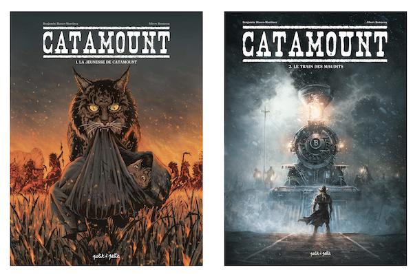 Les deux premiers tomes de Catamount