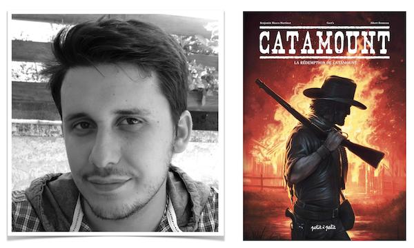 Benjamin Blasco-Martinez est le dessinateur de la série Catamount