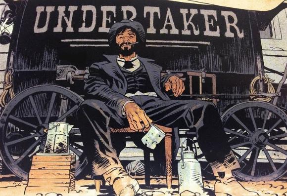 Undertaker suit les aventures de Jonas Crow, un croque-mort