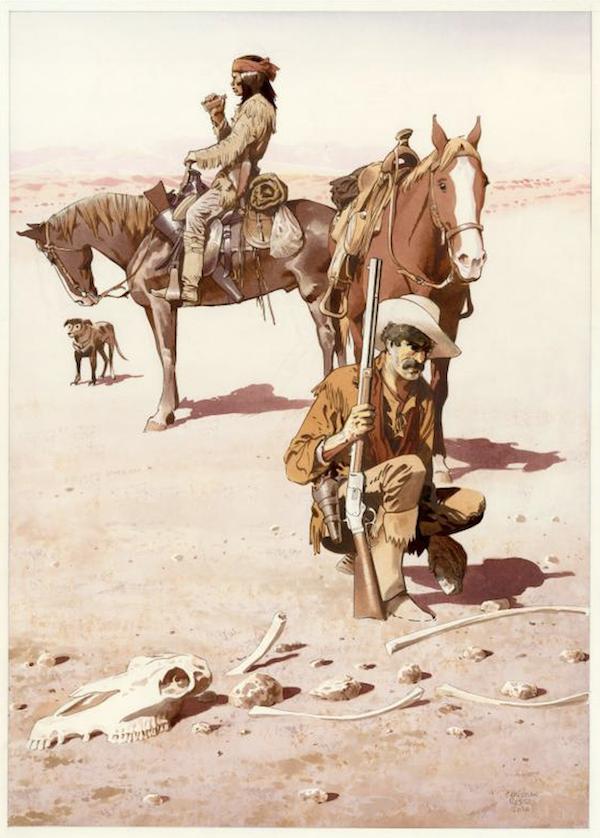 Peinture originale de Christian Rossi