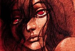 Julie, héroïne d'Yslaire dans les Sambre