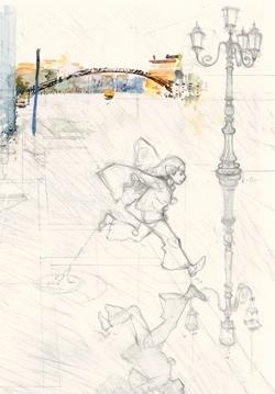 Une page des Voyages d'Anna