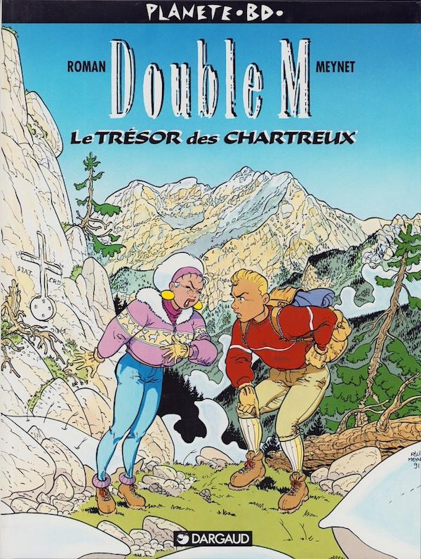 La couverture du premier tome de Double M