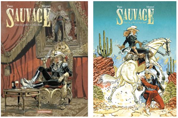 Sa dernière série, Sauvage (couverture du Toem 2)