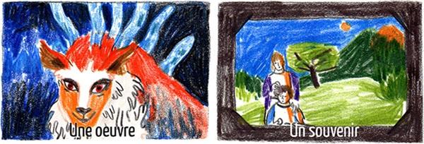 Si Mathilde était une ouvre elle serait la Princesse Mononoké de Miyazaki ; si elle était un souvenir, les goûters de son enfance !