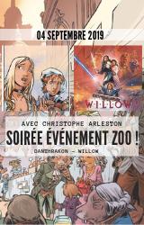 Soirée événement Zoo avec Christophe Arleston !