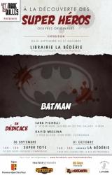 Expo A la découverte des super-héros