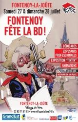 3e édition de Fontenoy fête la BD