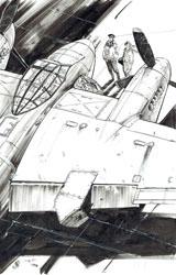 Exposition-Vente Keith Burns - Aviation seconde guerre mondiale