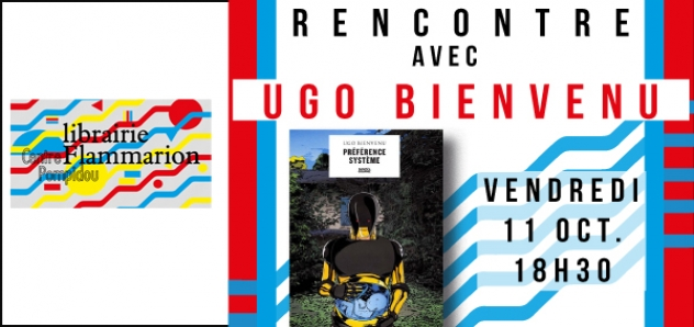 Affiche dédicace Ugo Bienvenu